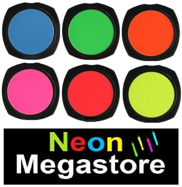Stargazer Neon UV Reactive Eyeshadow - Select The Colour Or Set That You Want