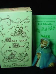 WADE-BIG-BAD-WOLF-4-034-TALL-1998-Ltd-ed-1000-RARE-MINT-BOXED-CERTIFICATE-ref-2E