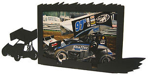 Sprint-Car-Race-Picture-Frame-5-034-x7-034-H-Racing