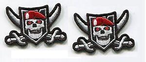 AFG-PAK TALIZOMBIE© WHACKER burdock MORALE 2-PATCH: Ranger Skull Cross Sward