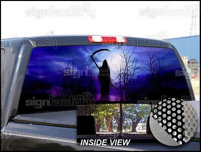 P21 Grim Reaper Window Tint Graphic Decal UNIVERSAL F150 Ram 1500 F250