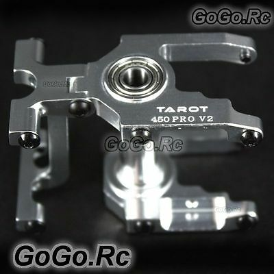 Tarot 450 Pro Integrated Main Shaft Fixed Group Silver for RC Heli - TL48029-1