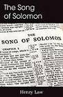 The Song of Solomon by Henry Law (Paperback / softback, 2013)