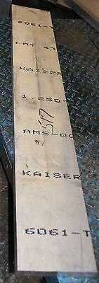 """6061-T651 Aluminum Plate Bar Block 46"""" x 7"""" x 1.25"""""""