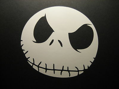 Evil Jack Decal Sticker Nightmare Before Christmas