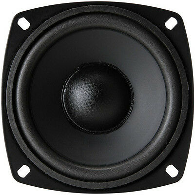 """4"""" Poly Cone Foam Surround Replacement Speaker Woofer Midrange Driver 8 ohm"""