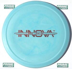 Wolf-1st-Run-169g-Marbled-Blue-Bar-Stamp-DX-NEW-Innova-PRIME-Disc-Golf-Rare