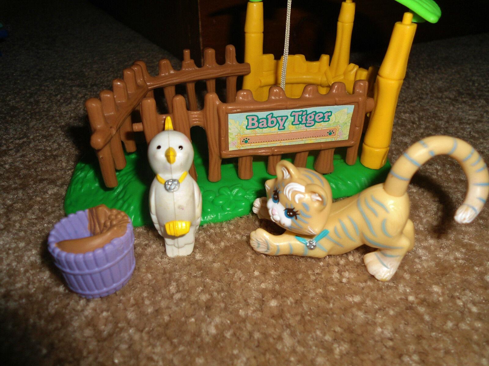 VINTAGE LITTLEST PET SHOP ZOO NURSERY BABY SAFARI JUNGLE PARROT ...