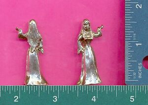 6 wholesale lead free pewter sorceress figurines C3010