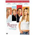 Rumor Has It (DVD, 2006, Full Frame)