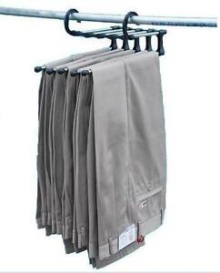 5-in-1-Magic-Multifunction-Trousers-Hanger-Rack-Free-Shipping-A037