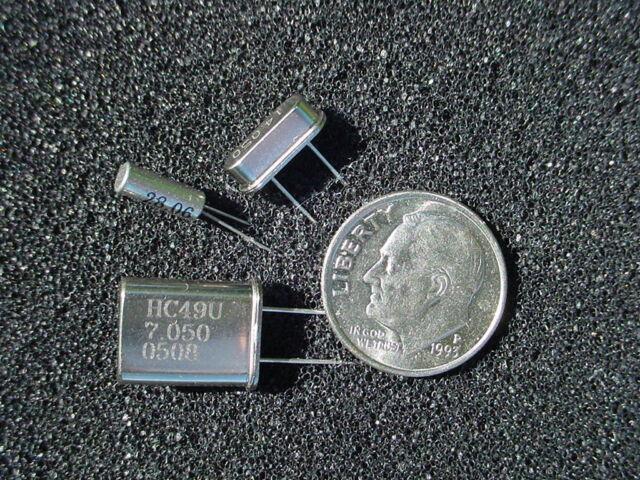 Crystals QRP Ham Radio frequencies HC49 & Cylindrical