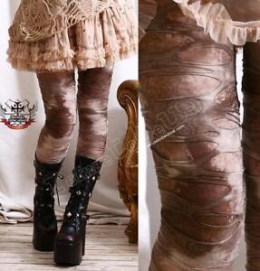 EGYPT-MUMMY-Decay-Ragged-Hole-Legging-Mud-ROCK-CANYON-Steampunk-LARP-S-M-L-XL