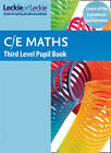 CfE Maths Third Level Pupil Book by Leckie & Leckie (Paperback, 2012)