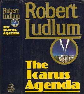 Robert-Ludlum-The-Icarus-Agenda-1st