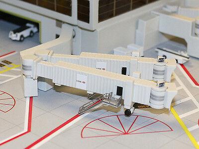 Gemini Jets GJARBRDG 2Airbridge 3 double widebody Airport SkyBRIDGES 1:400 Scale