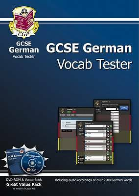 GCSE German Interactive Vocab Tester - DVD-ROM (DVD ONLY BOOK NOT INCLUDED)