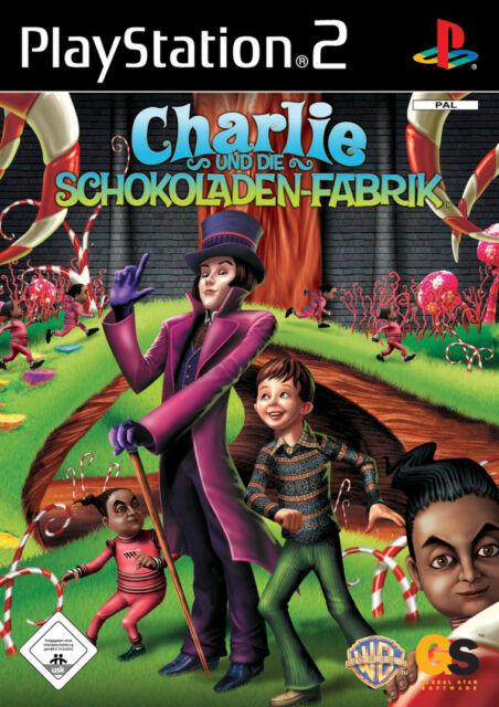 Charlie und die Schokoladen-Fabrik (PS2) - DVD wie Neu