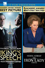 The Kings Speech/Iron Lady (DVD, 2013, Canadian)