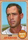 1968 Topps Luis Aparicio Chicago White Sox #310 Baseball Card