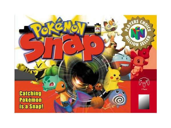 Pokemon Snap (Nintendo 64, 1999) Pal -suits AUS Consoles. Cartridge Only