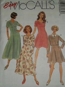 McCALLS-8583-LADIES-CUTE-CROPPED-JACKET-BACK-ZIPPER-DRESS-PATTERN-10-26-uc