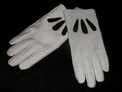 Disney Minnie Mouse GLOVES FOR COSTUME  GIRLS NEW