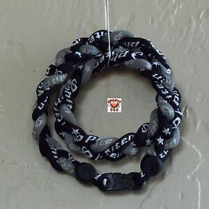 Phiten-Titanium-Triple-Braid-Custom-Black-Black-Gray
