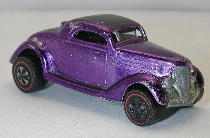 rojoline Hotwheels Hotwheels Hotwheels púrpura 1969 Ford Coupe 29915f