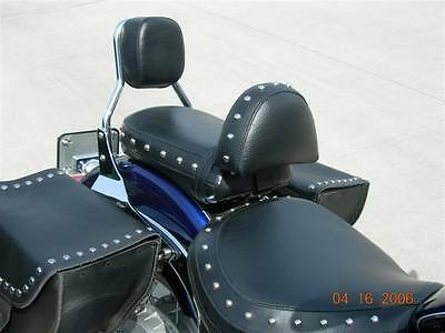 Suzuki Boulevard C109 R or T Driver Backrest Quick Release no tools needed