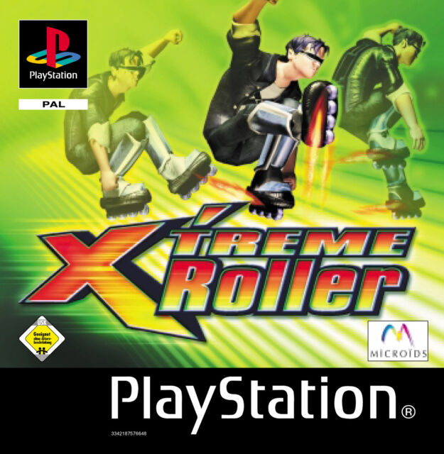Xtreme Roller  (PS1)  Einzelne CD, minimale Gebrauchsspuren