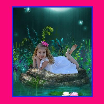 DIGITAL FANTASY photography  BACKGROUNDS backdrops kids props green screen