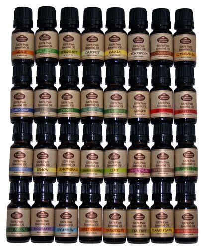 Essential Oil Ultimate Set 10 ml 100% Pure Grade-US FREE SHIP Fabulous Frannie