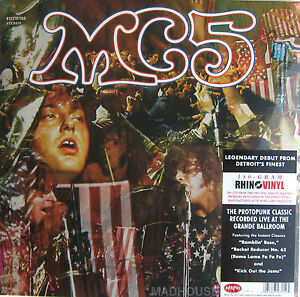 MC5 LP Kick Out The Jams Live At The Grande Ballroom 180 Gram SEALED ReMastered - <span itemprop=availableAtOrFrom>PAYPAL - SHIP ANYWHERE, United Kingdom</span> - The buyer has 7 days to return the item (the buyer pays shipping fees). The item will be refunded. Most purchases from business sellers are protected by the Consumer Contra - PAYPAL - SHIP ANYWHERE, United Kingdom