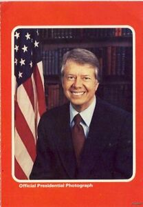 JIMMY-CARTER-38TH-PRESIDENT-OFFICIAL-WHITE-HOUSE-PHOTO