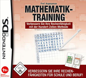 Prof. Kageyamas Mathematik-Training (Nintendo DS, 2008) - Neuburg, Deutschland - Prof. Kageyamas Mathematik-Training (Nintendo DS, 2008) - Neuburg, Deutschland