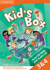 Kid's Box Levels 3-4 Tests CD-ROM and Audio CD by Christine Barton, Karen Saxby (Mixed media product, 2013)