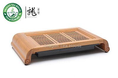 Wisdom * Bamboo Gongfu Tea Table Serving tray 40*22cm