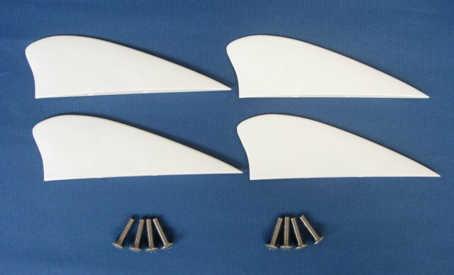 kitesurfing kiteboarding 4 pcs 1.75 inch fins for kiteboard kite board surf