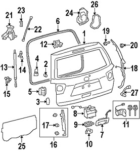 diagram of 2003 toyota highlander  diagram  free engine