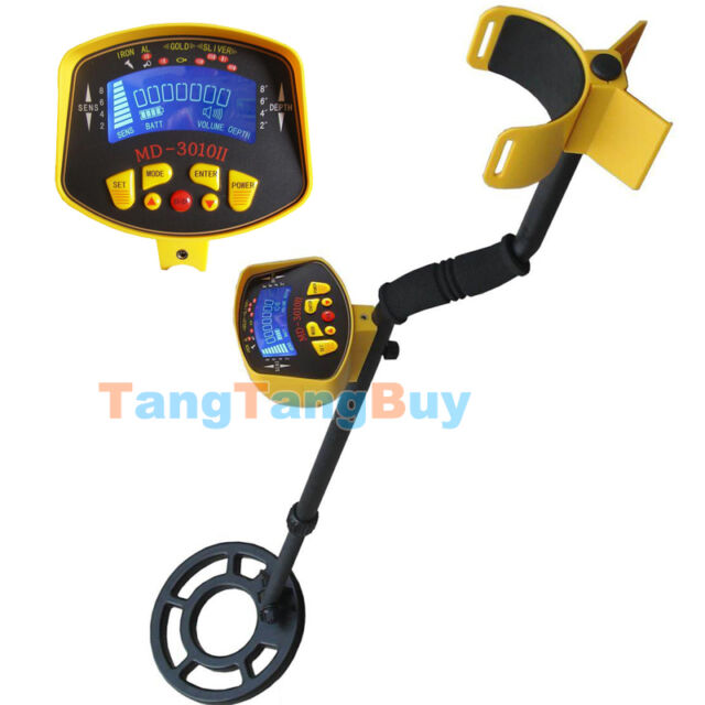 MD-3010II Underground Metal Detector Gold Digger Treasure Hunting Tracker Finder