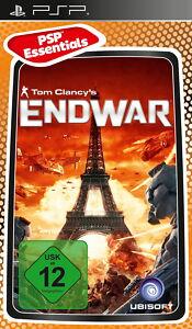 Tom-Clancy-039-s-Endwar-Sony-PSP-PlayStation-Portable-NEU