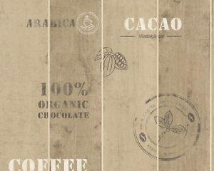 3-19-m-Vlies-Tapete-MANHATTAN-8845-10-884510-Holz-braun-Kaffee-Kakao