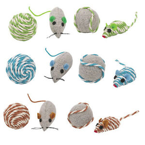 Assorted-sets-of-fun-mice-rattle-corded-balls-cat-toys-toy-kitten-sisal-canvas