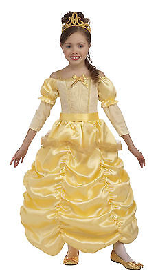 Child Princess Beauty and the Beast Belle Costume