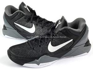 Image is loading Nike-Zoom-Kobe-7-VII-X-Black-White-