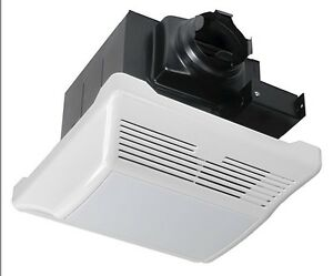 quiet bathroom exhaust fans with light 1 0 sones 110cfm bathroom exhaust fan amp light 25698