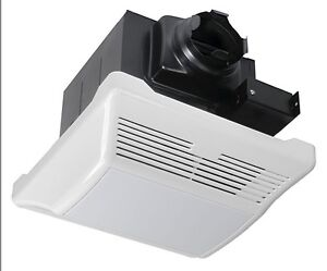 super quiet 1 0 sones 110cfm bathroom exhaust fan light combos kv110lb ebay