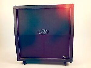peavey supreme xl 4x12 slant guitar amp cabinet ebay. Black Bedroom Furniture Sets. Home Design Ideas