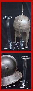 Victorian-British-French-Dragoon-Cuirassier-Helmet-Display-Stand-39cm-Ex-Tall